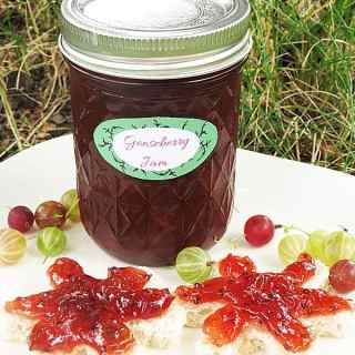 Gooseberry jam by ilonaspassion.com #gooseberry #jam