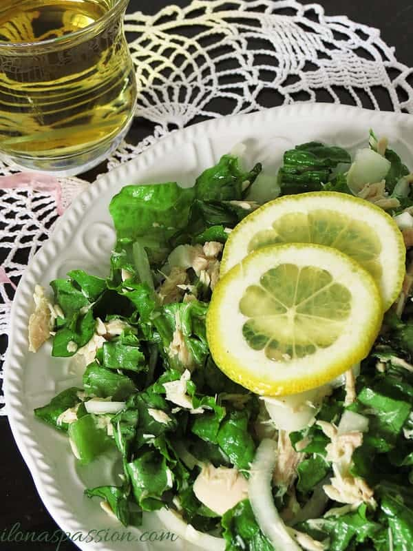 Healthy Tuna Salad by ilonaspassion.com
