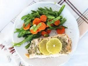 Easy Lemon Rosemary Salmon