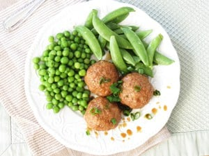 Turkey Meatballs {Hidden Veggie}