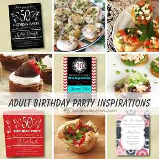 Adult Birthday Party Inspirations