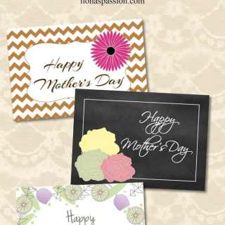 Gift Ideas for Mom + Free Printable Card