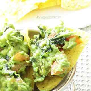 Mild Avocado Dip {3 Ingredients}