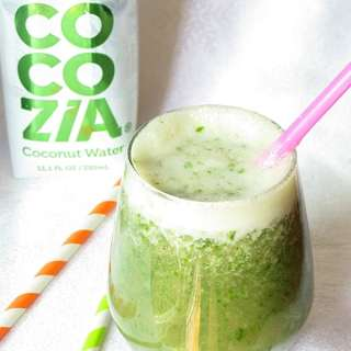 Coconut Kale Banana Smoothie