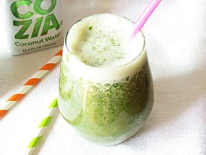 Coconut Banana Kale Smoothie