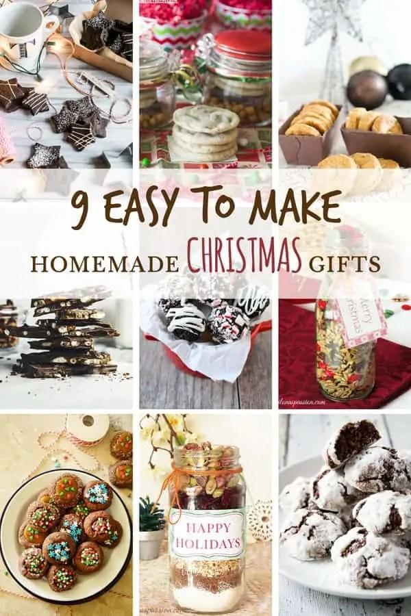 Edible Christmas Gifts Homemade