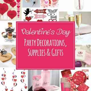Valentine's Day Party Decorations, Supplies & Gifts