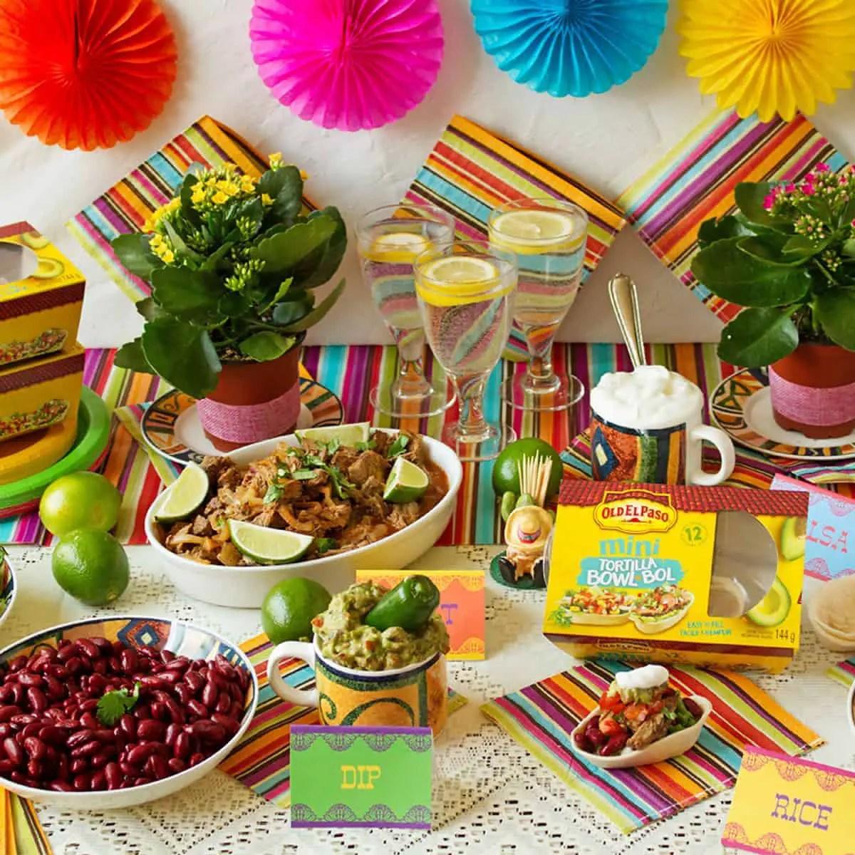 Mexican Buffet Menu Ideas