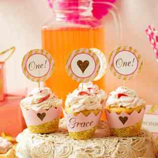 Pink and Gold Party Decorations & Ideas
