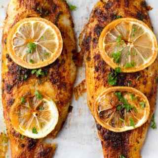 Oven baked fish basa is one of the easiest dinner ideas by ilonaspassion.com I @ilonaspassion
