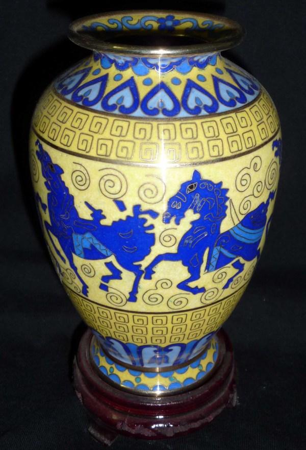 Cloisonne Brass Vases Ilook China