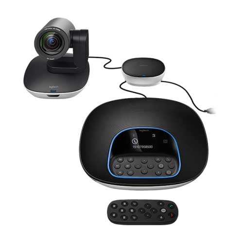 logitech video conference group cam