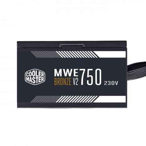 Cooler Master MWE 750W V2 Non-Modular 80 Plus Bronze Certified Power Supply