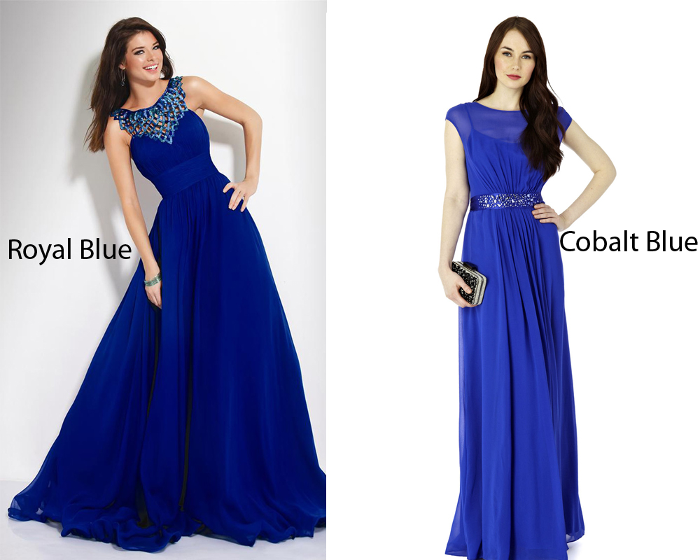 Royal Blue vs Cobalt  iLookWarcom