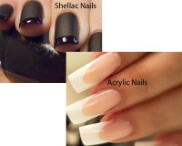 Shellac Nails vs Acrylic Nails | iLookWar.com