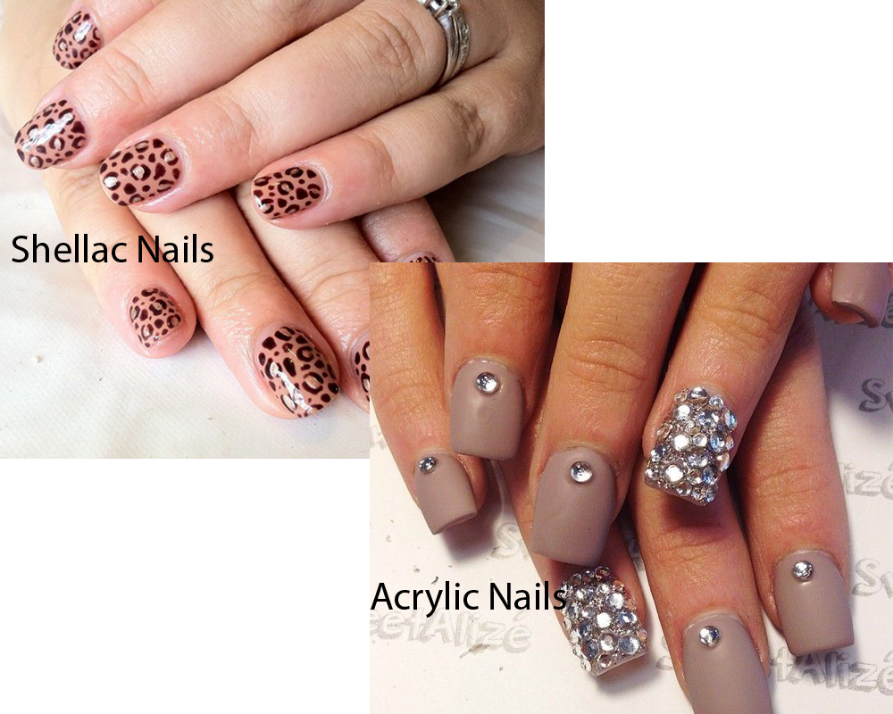 Difference Between Shellac And Acrylic Nails Best Nail