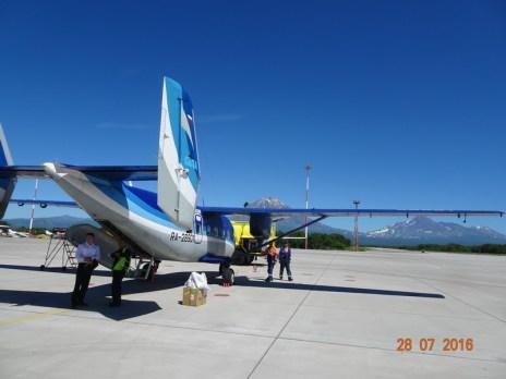 An-28 wyprodukowany wPolsce. Przyleciałem naKamczatkę. Fot.Krzysztof Szafran