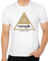 camiseta triangulo ilove80s