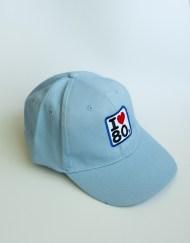 Gorras Azul Cielo 2 - Gorra I LOVE 80s Azul Cielo