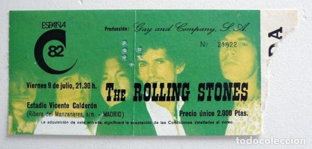 rolling stones madrid - Blog