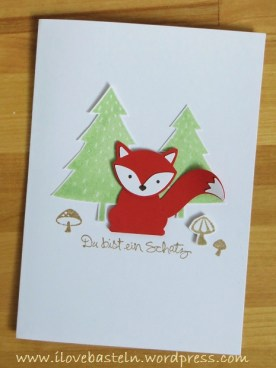 Stampin Up - Foxy Friends + Fox Builder Punch / Elementstanze Fuchs