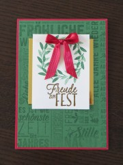 Stampin Up - Christmas card - #GDP058 - pinned from www.ilovebasteln.wordpress.com