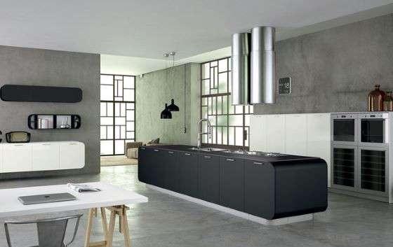 Cucina con soggiorno o ambienti separati Open space