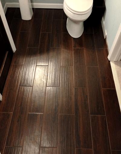 wood wood look tile bathroom floor tile
