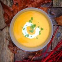 I Love Detox recept: Pompoensoep met gember, rode peper en kokos zonder gist. Zonder gist