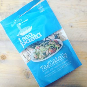 De voedingstrend: zeewierpasta van I Sea Pasta. Lekker hartig met zelfgemaakte pastasaus!