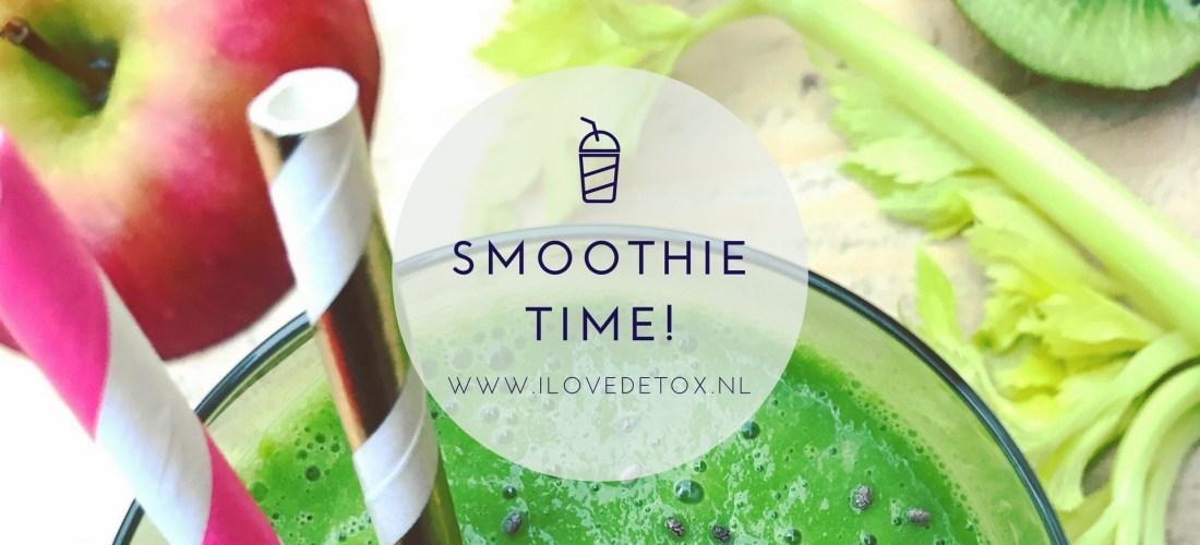 Recept simpele detox smoothies. Heerlijk voor in je detox kuur!
