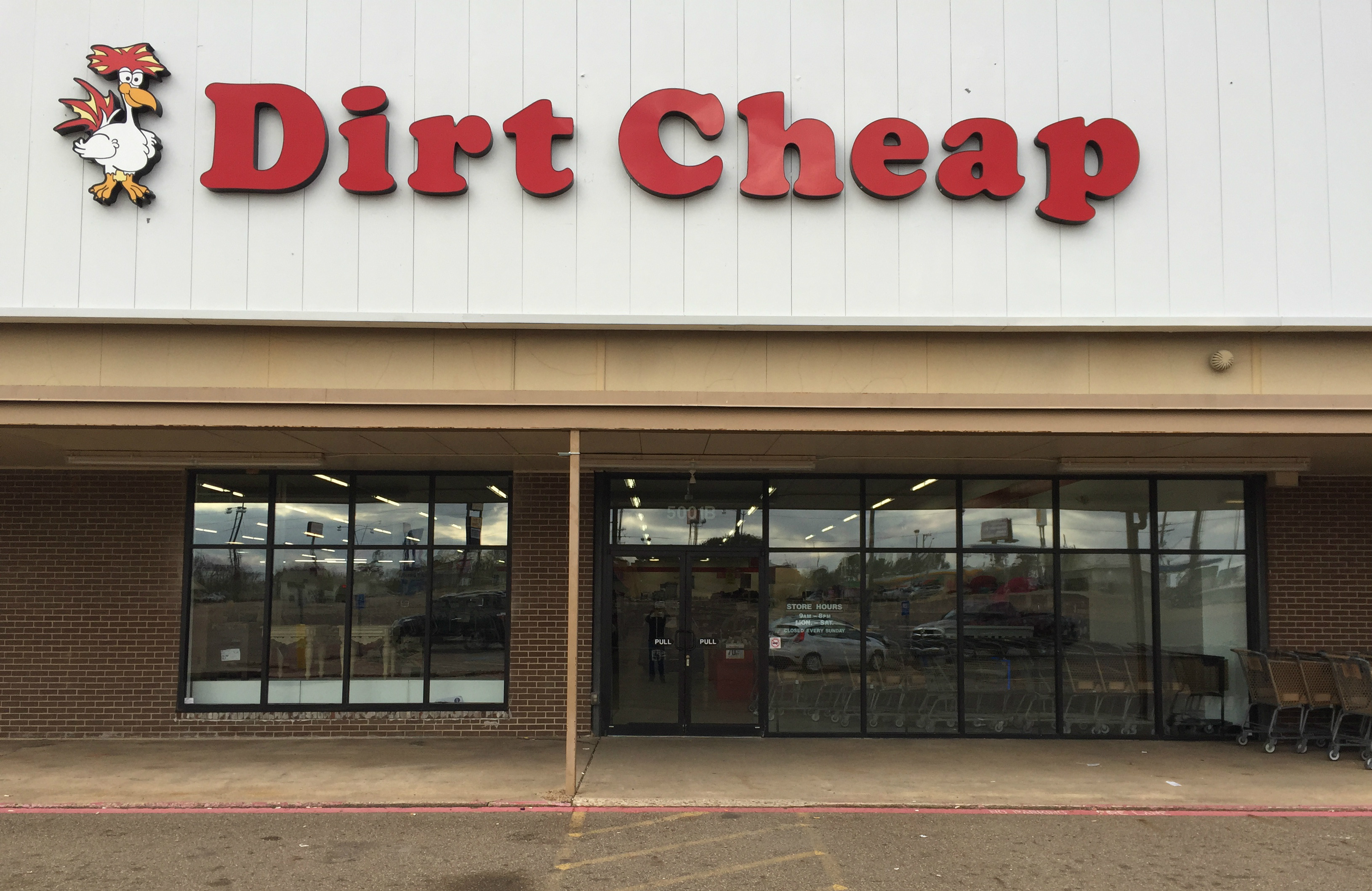 Texarkana Dirt Cheap  Locations  Dirt Cheap