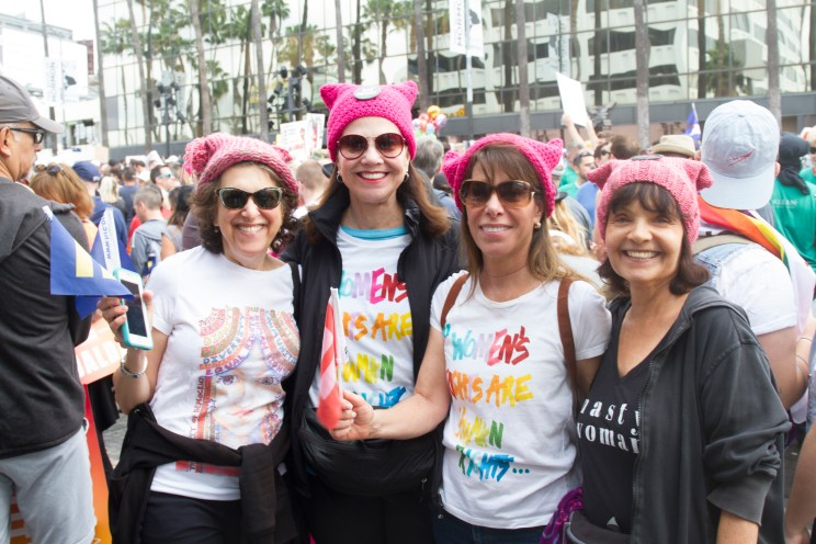 Women's Rights are Human Rights -LA Resist March 2017