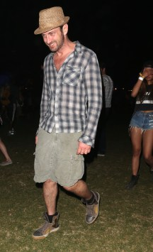 Celebrities at the 2013 Coachella Valley Music and Arts Festival