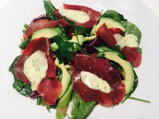 Bresaola Salat