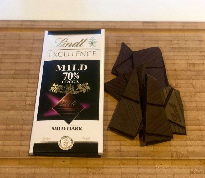 Lindt excellence mild 70% mørk chokolade