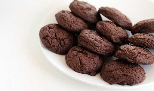 Biscotti di kamut al cioccolato