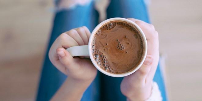 Cioccolata calda senza sensi di colpa