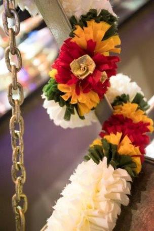 Floral decorations at Thava Montecasino