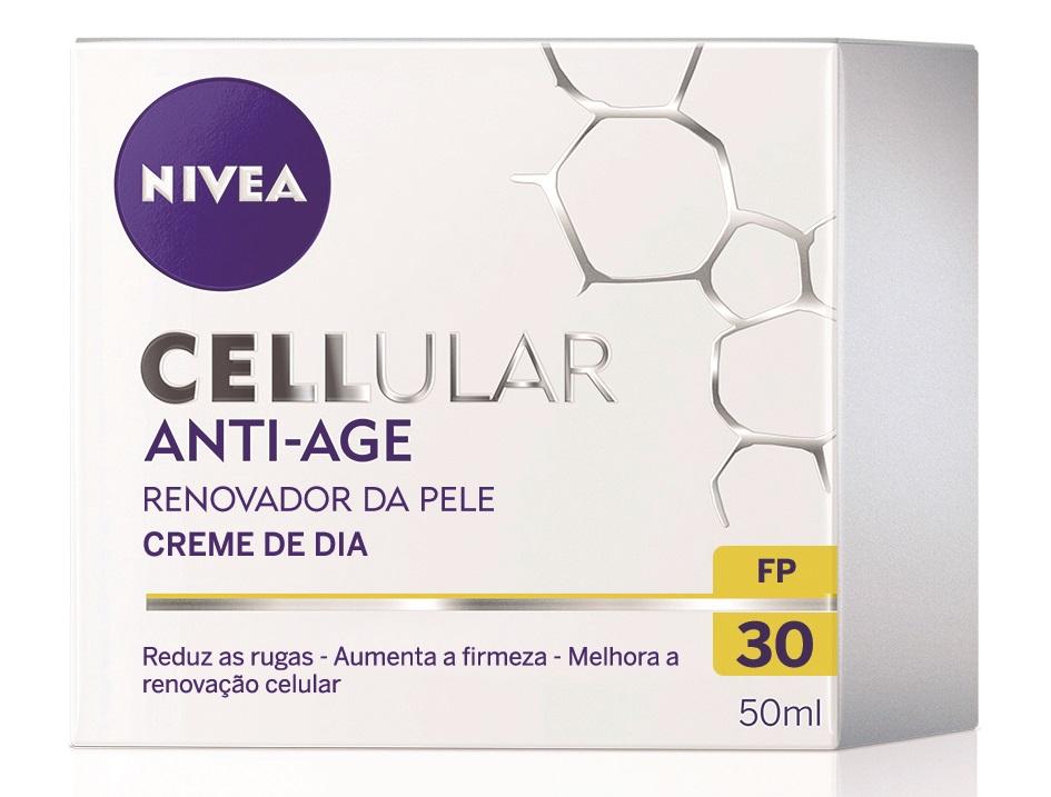 NOVO! NIVEA CELLULAR ANTI-AGE Creme de Dia FP30