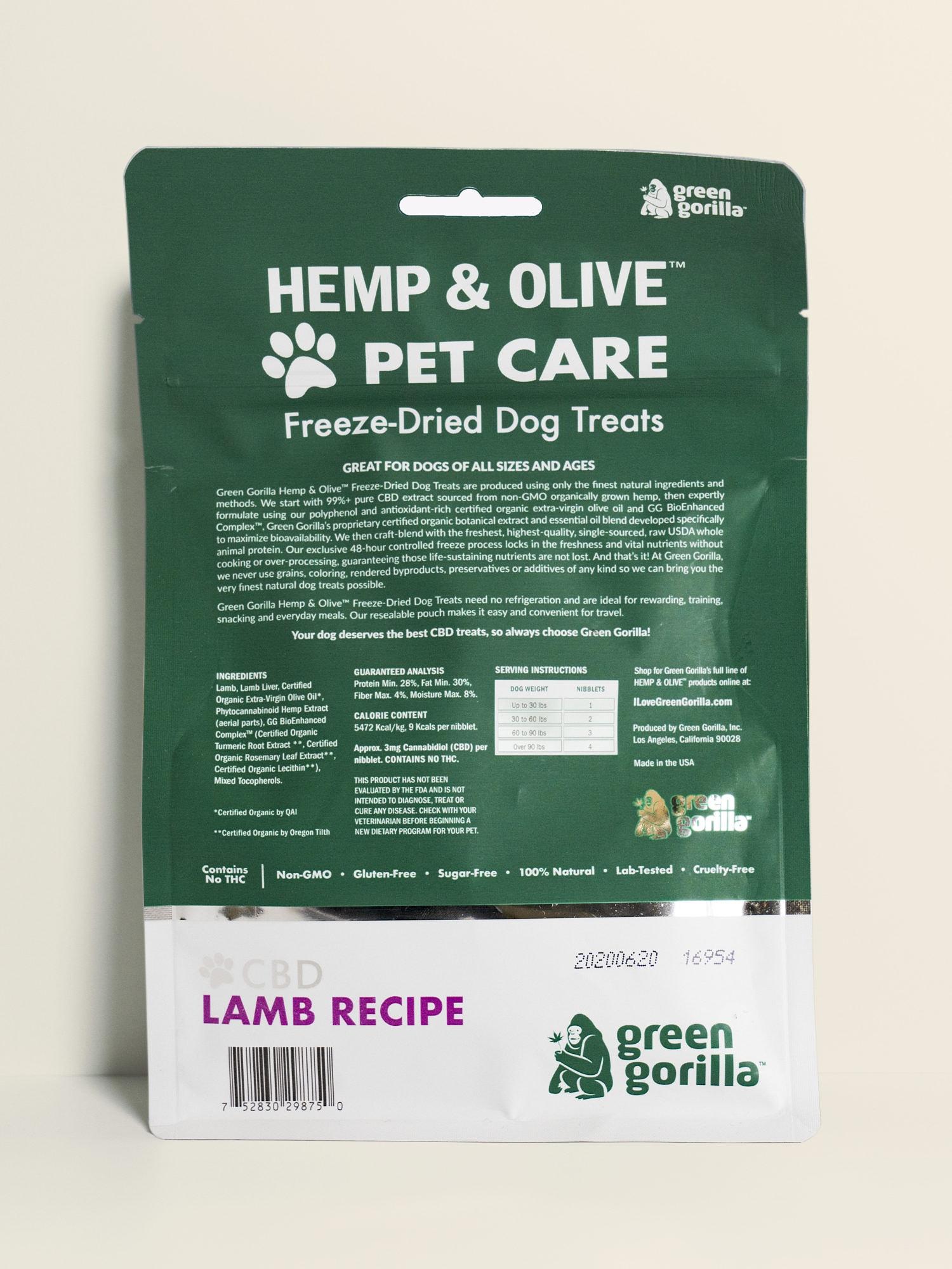 Buy Hemp Extract Infused CBD Dog Treats 180 mg