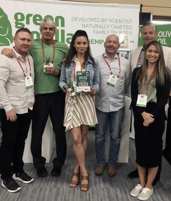 Green Gorilla staff at Superzoo 2018 pet CBD conference