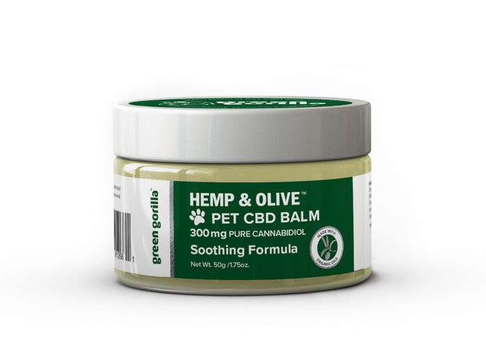 Pure CBD Balm for dogs & pets - 300mg | Green Gorilla