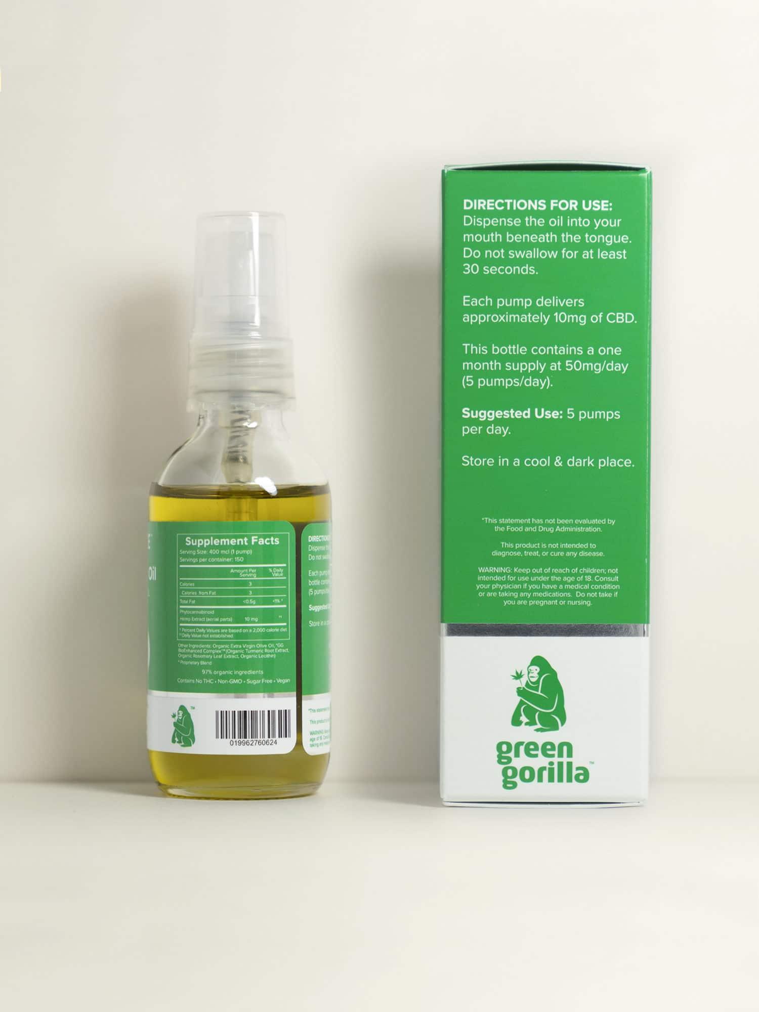 Buy USDA Certified Organic Pure Cannabidiol Oil - 1500 mg