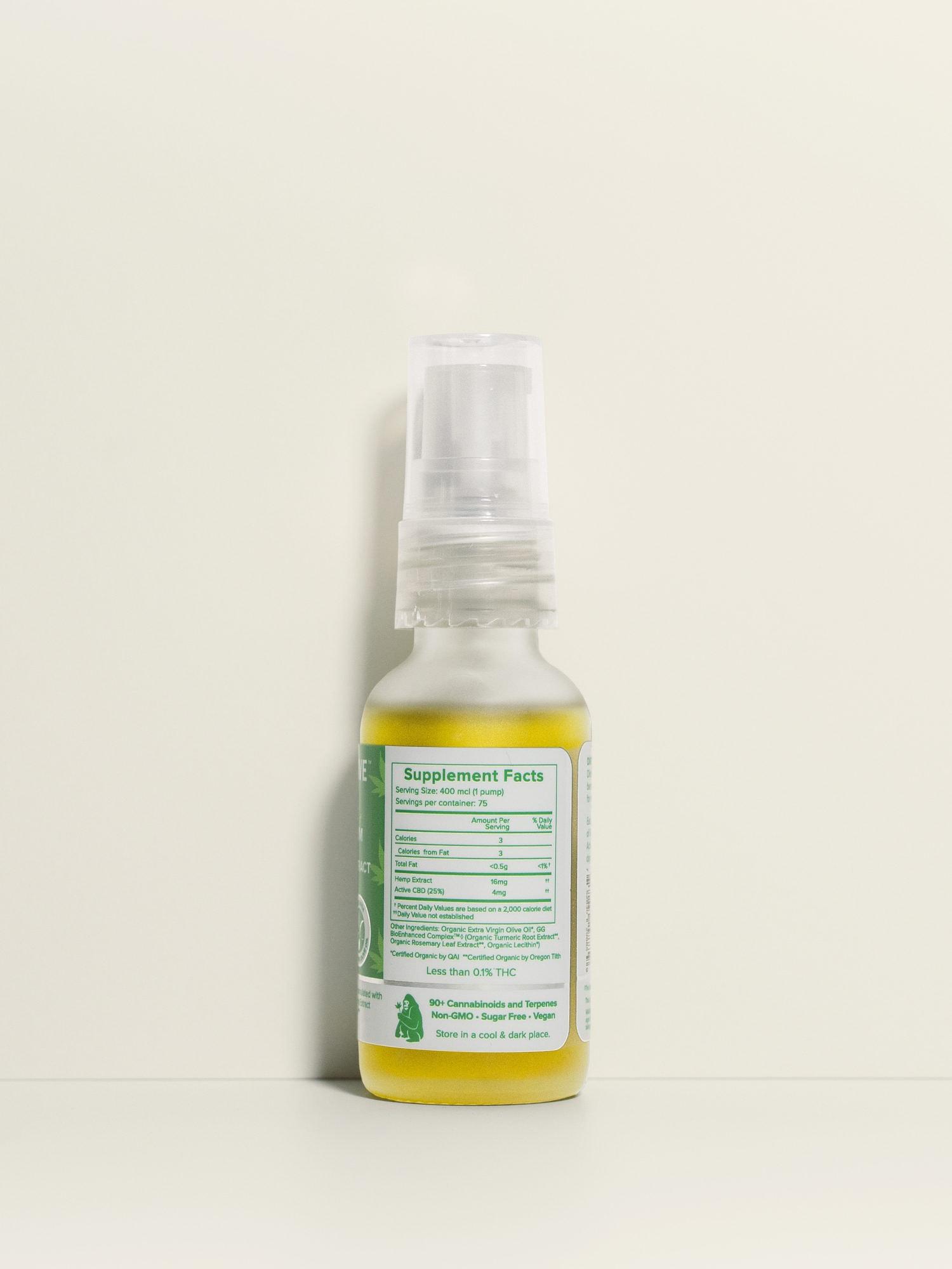 Buy USDA Certified Organic Full Spectrum CBD Oil - 1200 mg