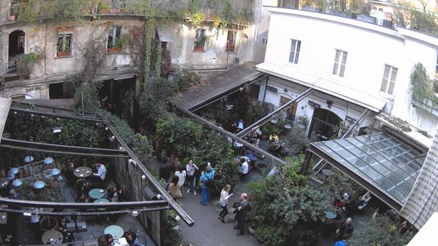 Un posto con un tetto giardino Corso Como 10  I Love