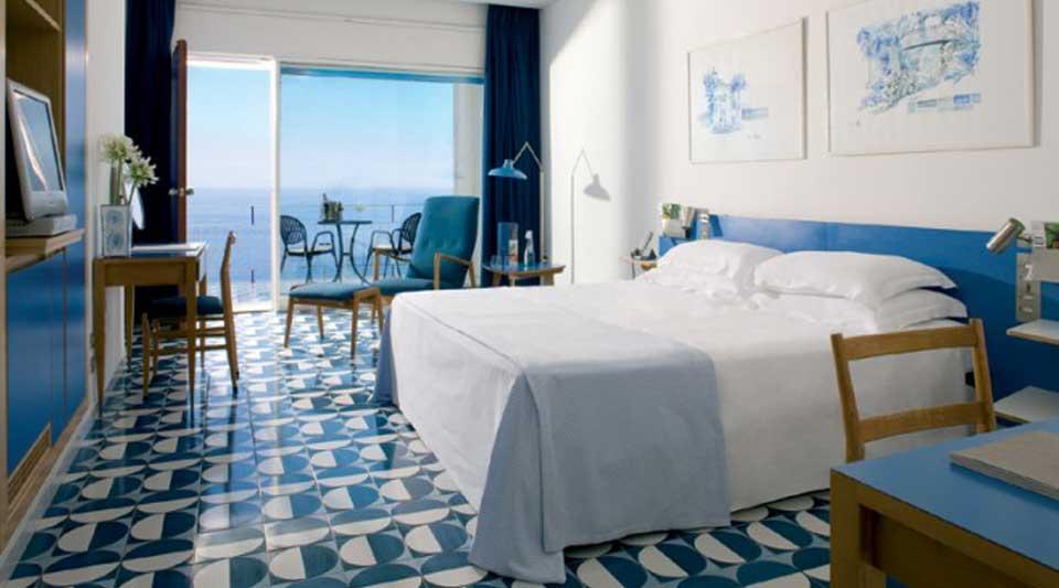 Gio Ponti tiles The Amalfi coast has never been so close