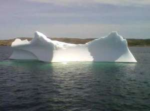 An iceberg off Twillingate
