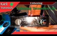 Unboxing Receptor TocomBox Life Full HD