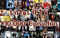 Listas IPTV de Séries (M3U) – Mais de 10.000 Episódios